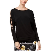 Thalia Sodi Cutout Top