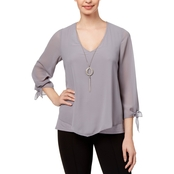 Thalia Sodi Layered Look Necklace Top