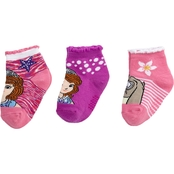 Disney Toddler Girls Sofia the First Socks 3 pk.