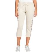 Gloria Vanderbilt Embroidered Capris