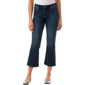 Two by Vince Camuto 5 Pocket Cropped Flare Jeans