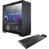 CybertronPC CLX SET GXH7800A Liquid-Cooled AMD Ryzen Windows 10 Gaming PC