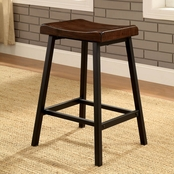 Furniture of America Lainey Pub Chairs 2 Pk.