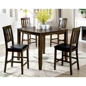 Furniture of America Chandler 5 Pc. Pub Dining Set