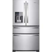 Whirlpool 36 in. Fingerprint Resistant French Door Refrigerator