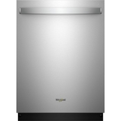 Whirlpool 24 in. Stainless Steel Built-In Dishwasher