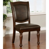 Furniture of America Alpena Side Chair 2 Pk.