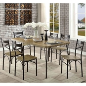 Furniture of America Banbury 7 Pc. Dining Set