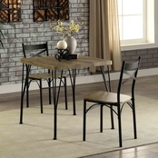Furniture of America Banbury 3 Pc. Dining Set