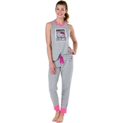 Hello Kitty Tank and Jogger Set With Snooze Squad