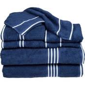 Lavish Home Rio 100% Cotton 8 Pc Towel Set