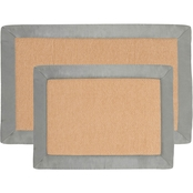 Lavish Home 2 Pc Memory Foam Bath Mat Set