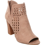 Madden Girl Bright Peep Toe Chop Out Booties