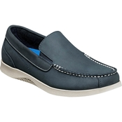 Nunn Bush Men's Bayside Lites Moc Toe Venetian Slip On Boat Shoes