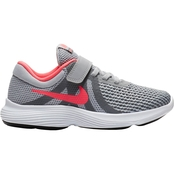 Nike Girls Revolutions 4 Pre School Running Shoes