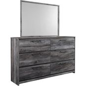 Signature Design by Ashley Baystorm Dresser and Mirror Set