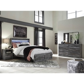 Signature Design by Ashley Baystorm 2 Drawer Storage Bed 4 pc. Set
