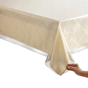 Benson Mills Clear Vinyl Tablecloth 60 in. x 84 in.
