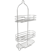 Lavish Home Satin Finish Tall Shower Caddy