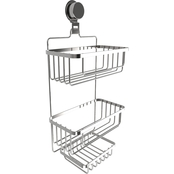 Lavish Home Wall Mount 3 Tier Shower Caddy