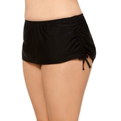 Hot Water Juniors Plus Size By The Sea Adjustable Skirted Bottom