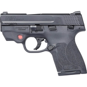S&W Shield 2.0 9MM 3.1 in. Barrel 8 Rds 2-Mags Pistol Black TS with CT Red Laser