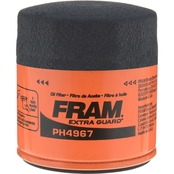 FRAM Extra Guard Spin On Oil Filter, PH4967