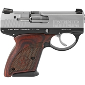 Bond Arms Bullpup 9MM 3.35 in. Barrel 7 Rds Pistol Stainless Steel