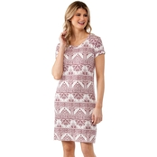 Cherokee Print Knit Dress