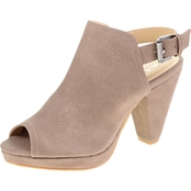 CL By Laundry Wake Up Peep Toe Booties
