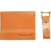 Timberland Leather Wallet and Key Fob Gift Set