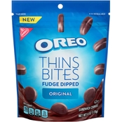 Nabisco Oreo Thins Bites Fudge Dipped 6 oz.