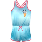 Jelli Fish Kids Girls Dog Sleep Romper