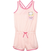 Jelli Fish Kids Girls Cat Sleep Romper