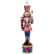 Design Toscano Illuminated Bavarian Style Holiday Nutcracker Statue