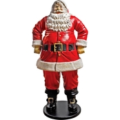 Design Toscano Large Jolly Santa Clause Statue
