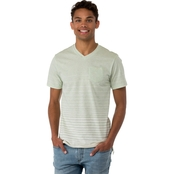 Ocean Current Mac Spot Slub Tee