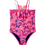 Limited Too Girls Butterfly 1 Pc. Swimsuit