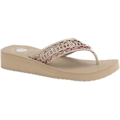 Yellow Box Women's Ruthie 1.5 In. Bling Sandal