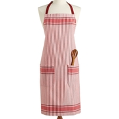Martha Stewart Collection Jacquard Striped Apron