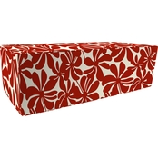 Jordan Rectangle Pouf Ottoman