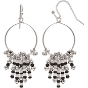 jules b Half and Half Ring Drop Earrings