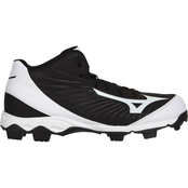 Mizuno Men's 9 Spike Advanced Franchise 9 Mid Baseball Cleats
