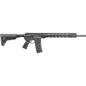 Ruger AR-556 MPR 5.56 NATO 18 in. Barrel 30 Rnd Rifle Black