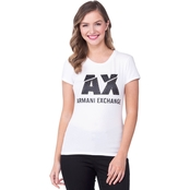 Armani Exchange Broken Logo Crewneck Tee