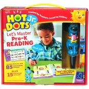 Educational Insights Hot Dots Jr. Let's Master Pre K Reading Set