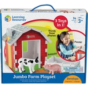 Learning Resources Jumbo Farm Playset