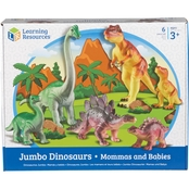 Learning Resources Jumbo Dinosaurs, Mommas and Babies