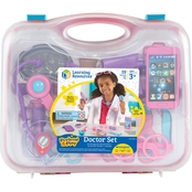 Learning Resources Pretend and Play Doctor Kit, Pink
