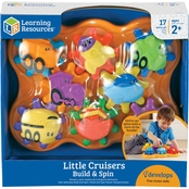Learning Resources Little Cruisers Build & Spin